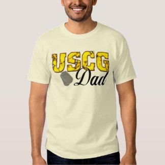 Papá de USCG Playera