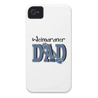 PAPÁ de Weimaraner iPhone 4 Case-Mate Protector