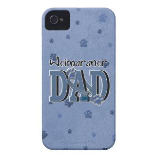 PAPÁ de Weimaraner Case-Mate iPhone 4 Protector