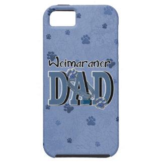 PAPÁ de Weimaraner iPhone 5 Case-Mate Cárcasa