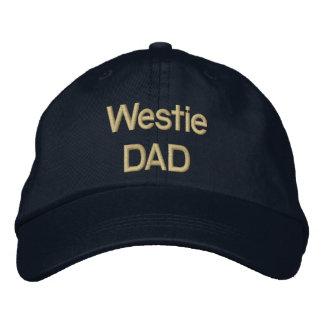 PAPÁ de Westie del bordado Gorras De Beisbol Bordadas