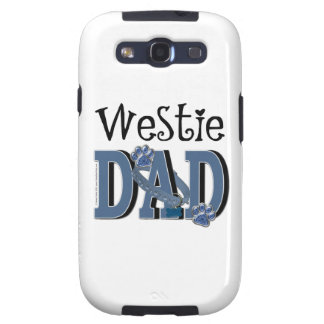 PAPÁ de Westie Galaxy S3 Cárcasas
