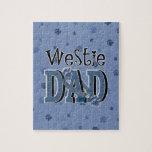 PAPÁ de Westie Puzzles Con Fotos
