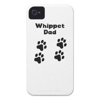 Papá de Whippet Case-Mate iPhone 4 Fundas