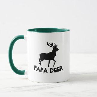 PAPA DEER mug