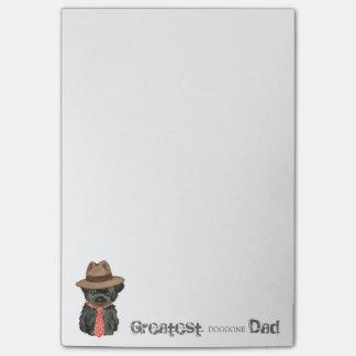 Papá del Affenpinscher Notas Post-it®