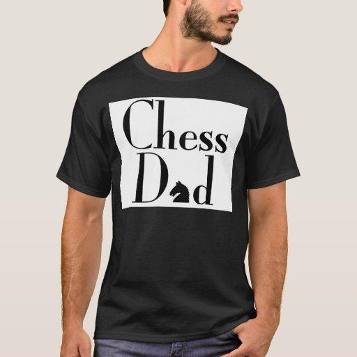 Papá del ajedrez playera