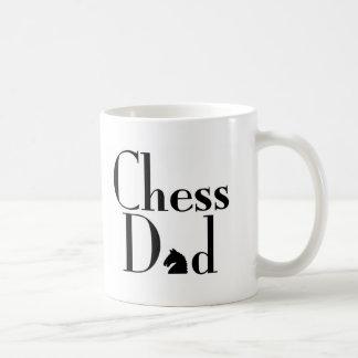 Papá del ajedrez taza de café
