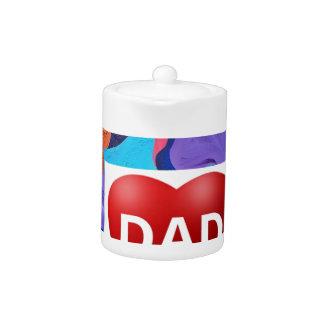 Papá del amor de la pompa