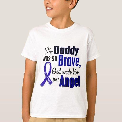 Papá del ÁNGEL 1 del cáncer de colon Playera