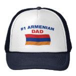 Papá del armenio #1 gorra