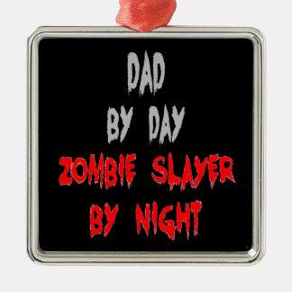 Papá del asesino del zombi adornos