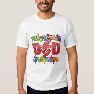 Papá del autismo - amor de I mi niño Camisas