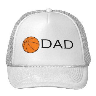 Papá del baloncesto gorro de camionero
