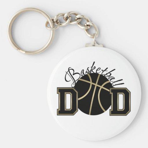 Papá del baloncesto llavero