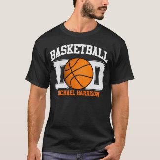 Papá del baloncesto (oscuro) playera
