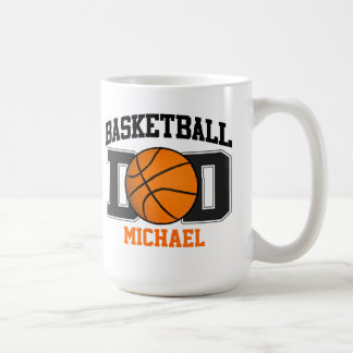 Papá del baloncesto taza clásica