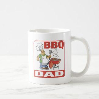 Papá del Bbq Taza Clásica