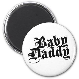 Papá del bebé imán de frigorífico