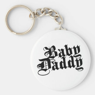 Papá del bebé llaveros