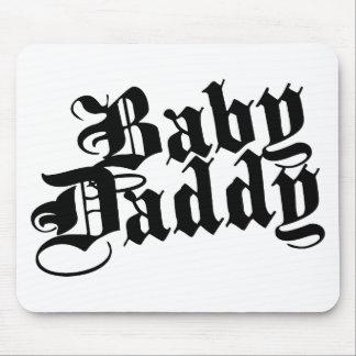 Papá del bebé tapetes de ratones