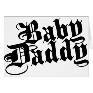 Papá del bebé tarjetas