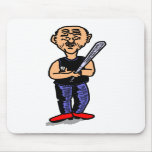 Papá del béisbol alfombrillas de ratón