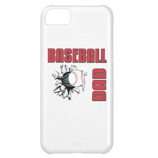 Papá del béisbol funda para iPhone 5C