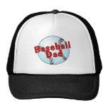 Papá del béisbol gorras de camionero