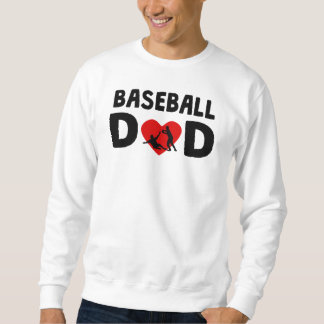 Papá del béisbol pulovers sudaderas