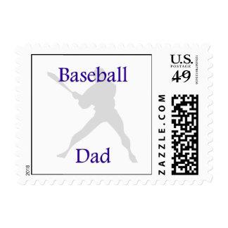 Papá del béisbol sello