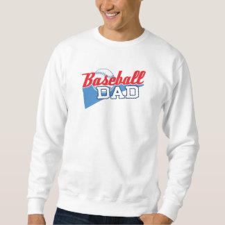 Papá del béisbol sudadera