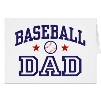 Papá del béisbol tarjeta