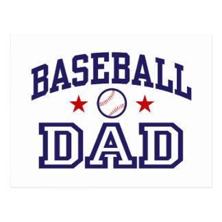 Papá del béisbol postales