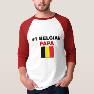 Papá del belga #1 polera