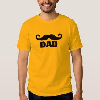 papá del bigote playera
