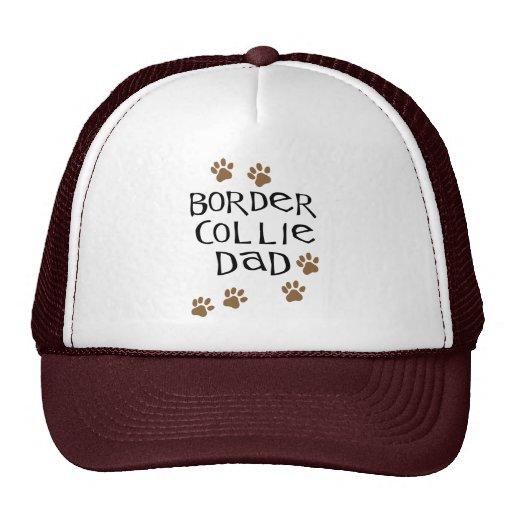 Papá del border collie gorros