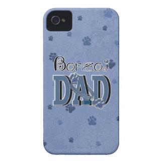 PAPÁ del Borzoi Carcasa Para iPhone 4 De Case-Mate
