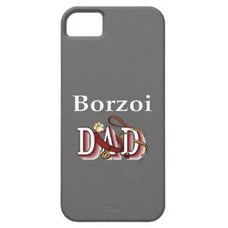Papá del Borzoi Funda Para iPhone SE/5/5s