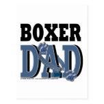 PAPÁ del boxeador Postal