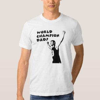 ¡Papá del campeón del mundo! Camisas
