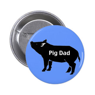 Papá del cerdo pin