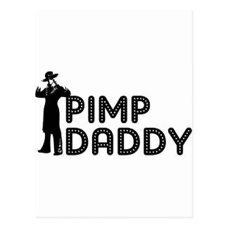Papá del chulo tarjetas postales