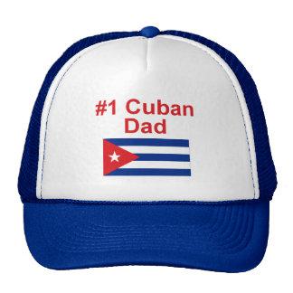 Papá del cubano #1 gorro de camionero