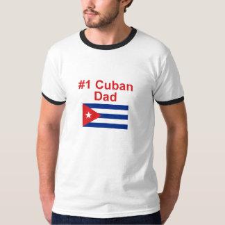Papá del cubano #1 playeras