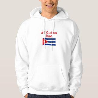Papá del cubano #1 sudadera