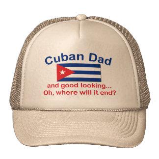 Papá del cubano de Gd Lkg Gorras