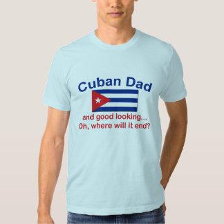 Papá del cubano de Gd Lkg Playera