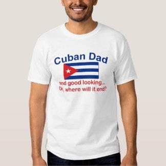 Papá del cubano de Gd Lkg Playeras