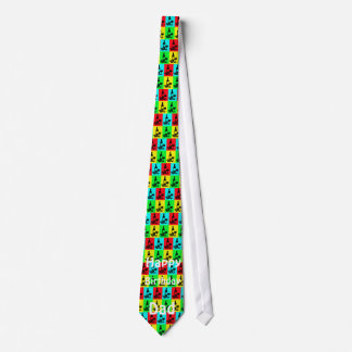 Papá del cumpleaños, lazo moderno del vino corbata personalizada